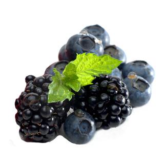 Aroma: Schwarze Beeren