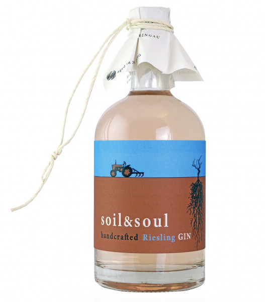 Trenz soil & soul handcrafted Riesling GIN 44% 0,5l