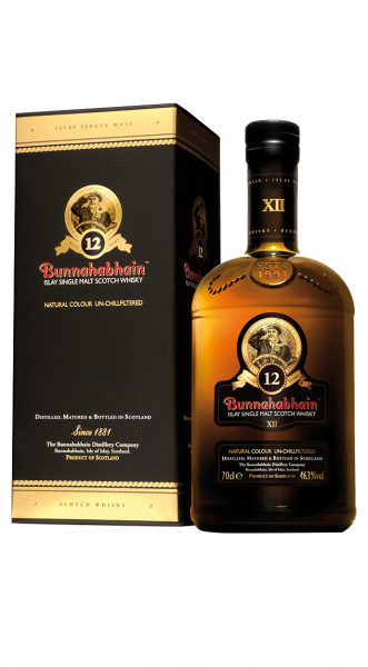 Bunnahabhain 12 years Unchilfiltered Islay Malt Whisky 46,3% 0,7l