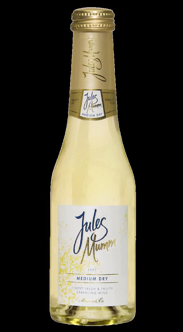 Jules Mumm Medium Dry 11% 0,2l