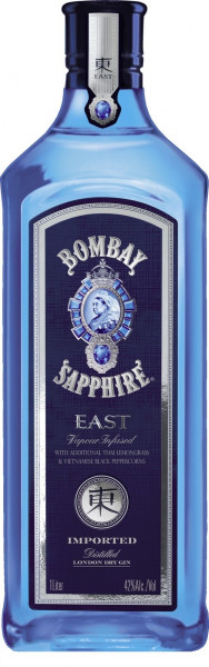 Bombay Sapphire East London Dry Gin 42% 0,7l