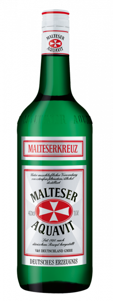 Malteserkreuz Akvavit 40% 1,0l