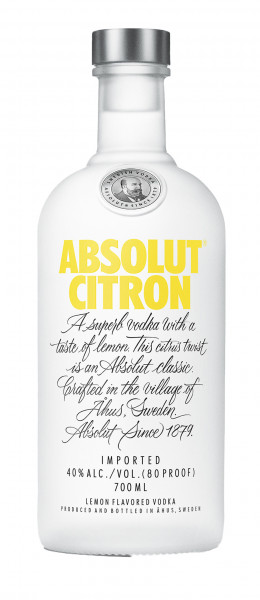 Absolut Vodka Citron 0,70!