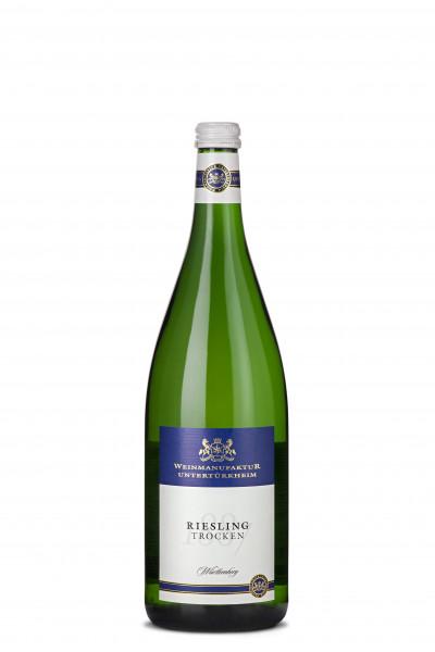 2018 Weinmanufaktur Untertürkheim Riesling Trocken 1,00 l Mehrweg