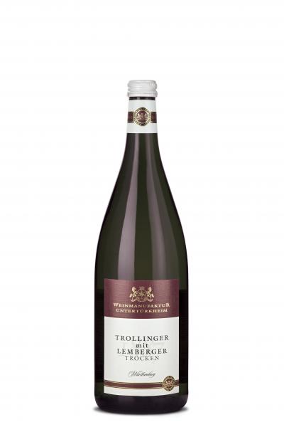 2016 Weinmanufaktur Untertürkheim Trollinger mit Lemberger Trocken 1,00 l Mehrweg