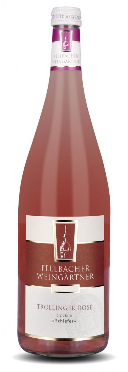 2018 Fellbacher Weingärtner Trollinger Rosé >>Schiefer<< Trocken 1,00 l Mehrweg