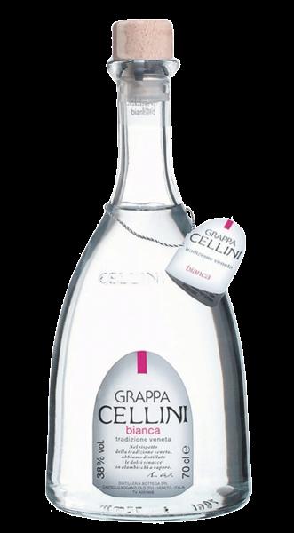 Cellini Grappa Bianca 38% 0,7l