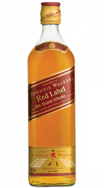 Johnnie Walker Red Label Scotch Whisky 40% 0,7l