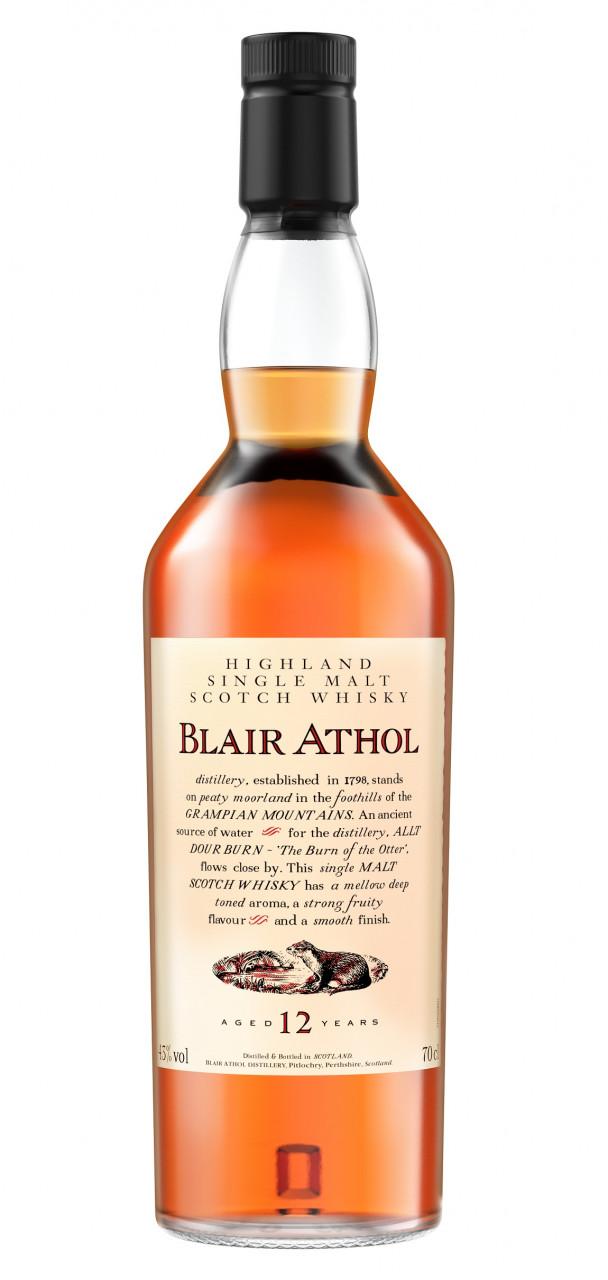 Blair Athol 12 years Flora & Fauna Collection Single Speyside Malt 43% 0,70l