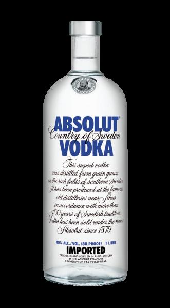 Absolut Vodka 40% 1,0l
