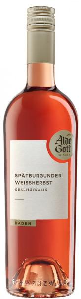 2019 Alde Gott Spätburgunder Weißherbst Halbtrocken