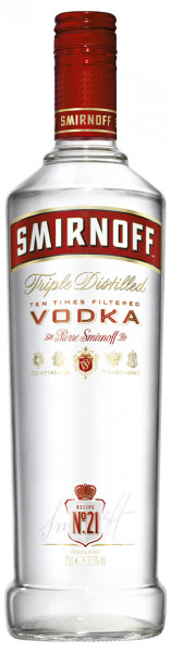 Smirnoff Vodka Red Label 37,5% 0,7l