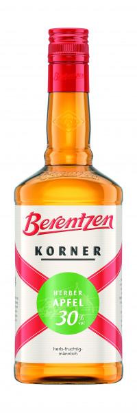 Berentzen Korner Herber Apfel 30% 0,7l!