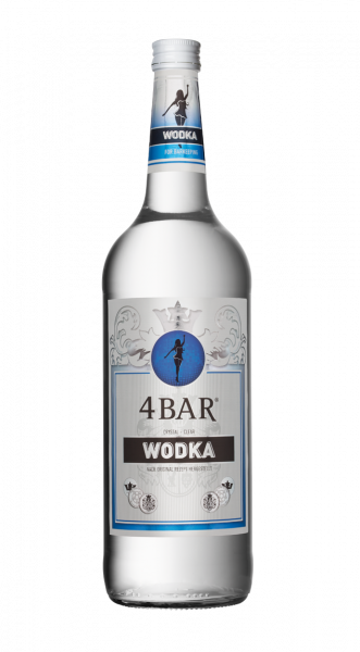 4 Bar Vodka 37,5% 1,0l