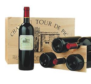 Geschenkpackung Château Haut Tuquet !