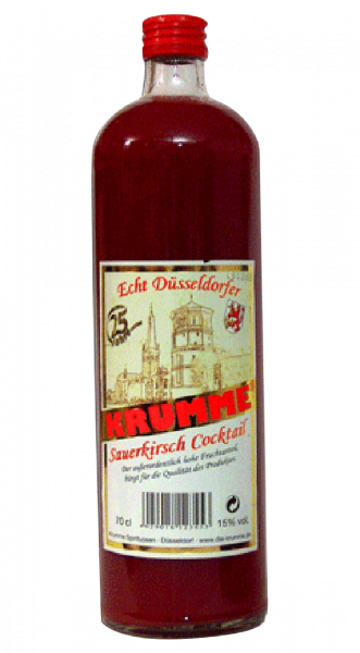 Krumme Sauerkirsch Cocktail 15% 0,7l