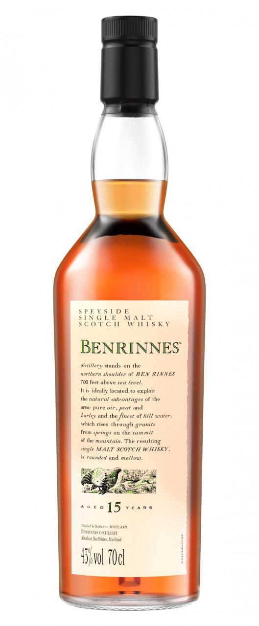 Benrinnes 15 years Flora & Fauna Collection Single Speyside Malt 43% 0,70l
