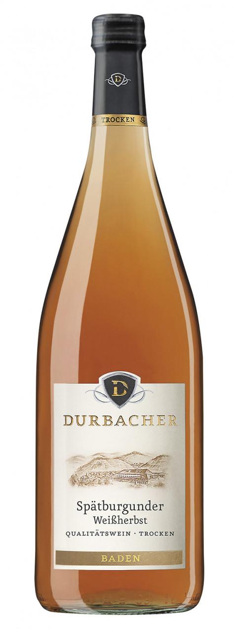 2019 Durbacher Spätburgunder Weißherbst Trocken 1,00 Mehrweg!