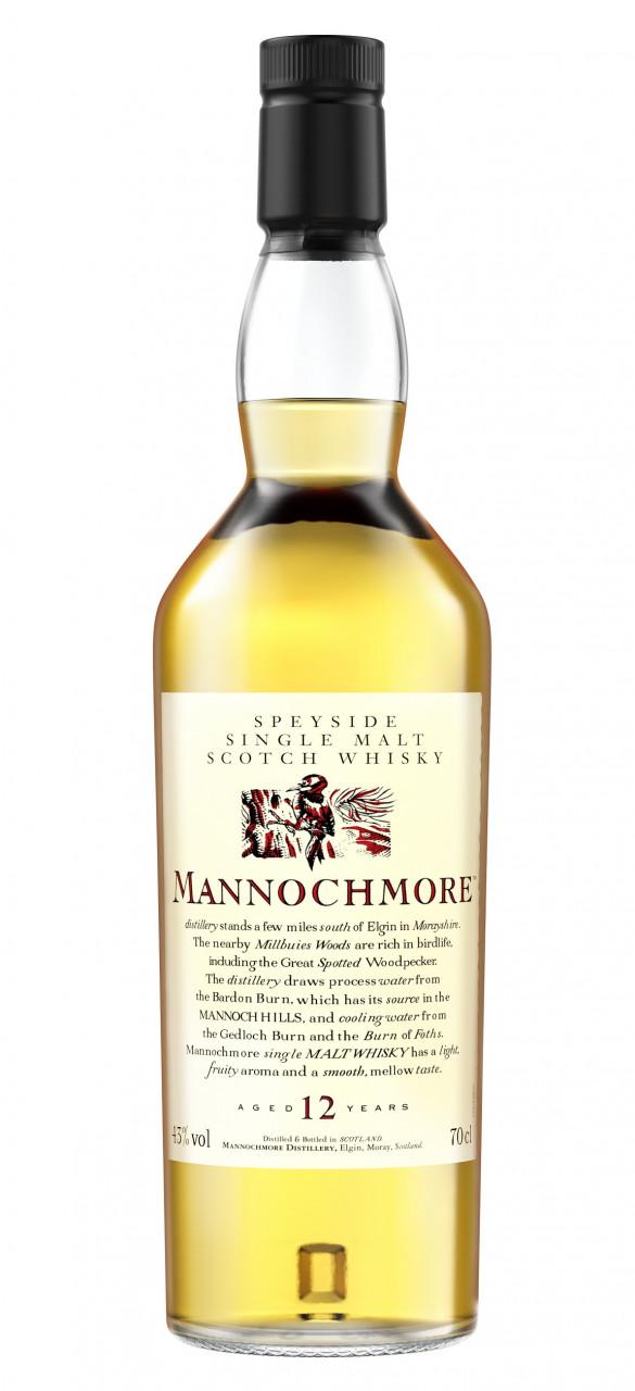 Mannochmore 12 years Flora & Fauna Collection Single Speyside Malt 43% 0,70l