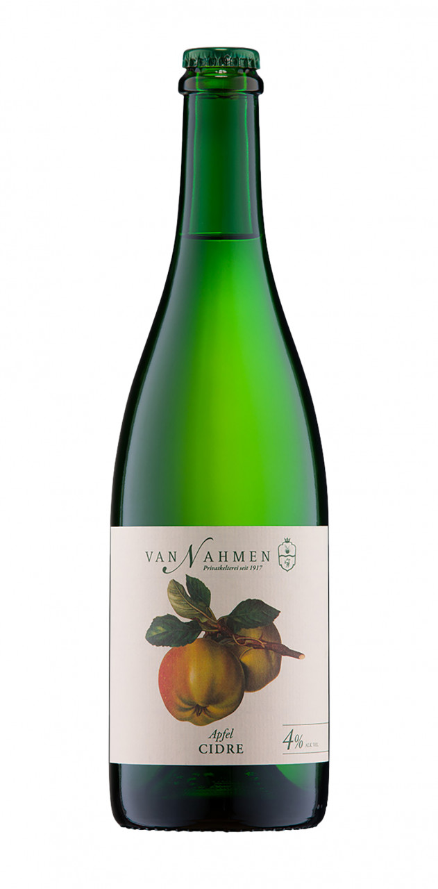 Van Nahmen Apfel-Cidre 4% 0,75l