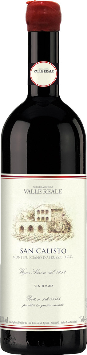 2015 Valle Reale San Can Calisto D.O.C.!