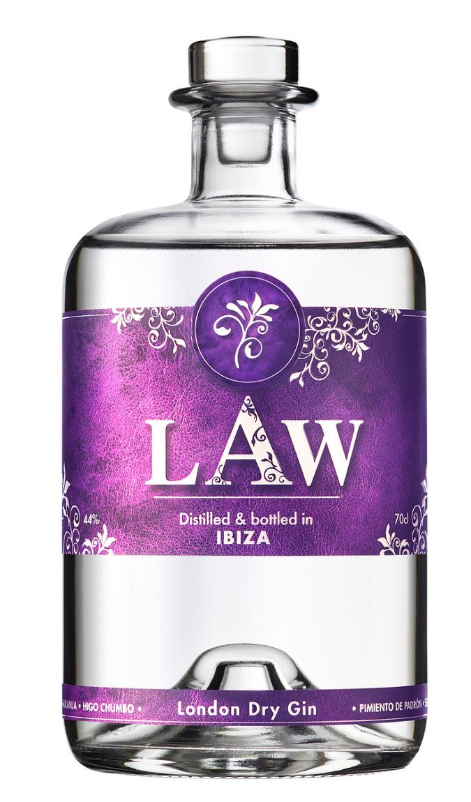 Law Premium Dry Gin Ibiza 0,7l