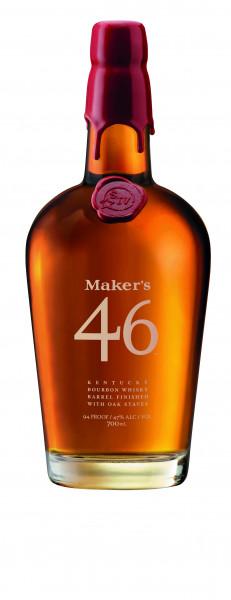 Maker's Mark 46 Kentucky Straight Bourbon Whiskey 0,7l!