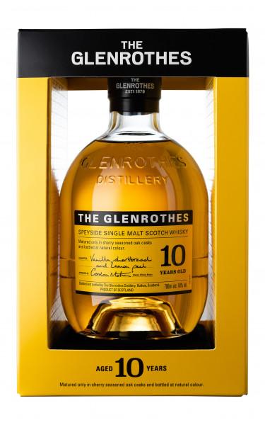 Glenrothes 10 years Speyside Single Malt Whisky 40% 0,7l!