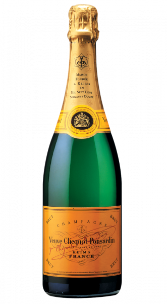 Veuve Clicquot Ponsardin Brut Champagne 12% 0,75l
