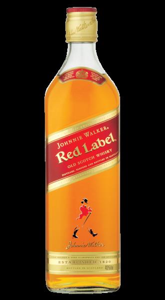 Johnnie Walker Red Label Scotch Whisky 40% 1,0l