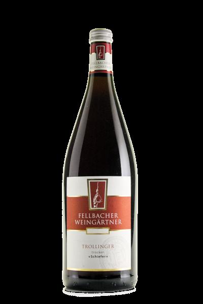 2016 Fellbacher Weingärtner Trollinger >>Schiefer<< Trocken 1,00 l Mehrweg