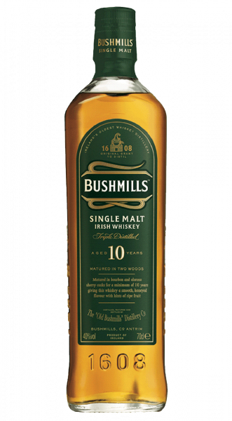 Bushmills Whiskey 10 years Irish Malt 40% 0,7l