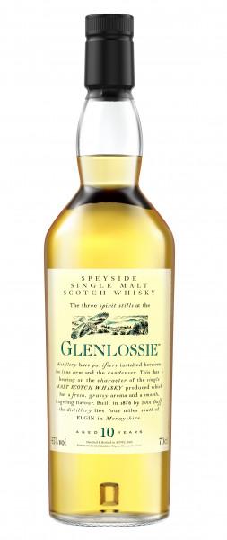 Glenlossie 10 years Flora & Fauna Collection Single Speyside Malt 43% 0,70l