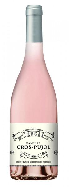 2019 Cros-Pujol Zangre Rosé Pays d'Oc I.G.P.!