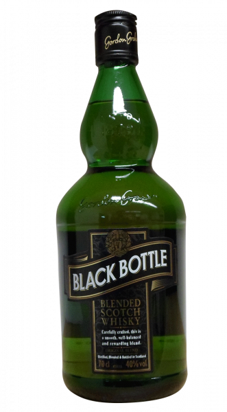 Black Bottle Scotch Whisky 40% 0,7l!