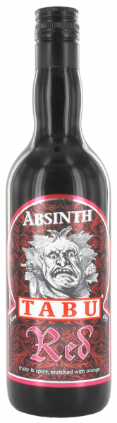 Absinth Red Tabu 55% 0,7l