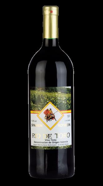 Rio de Toro 1,00 l Valencia D.O. Spanischer Qualitätsrotwein