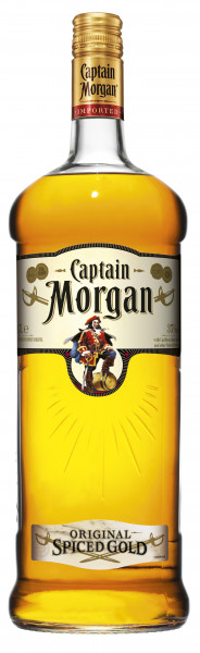 Captain Morgan Rum Spiced Gold 35% 1,5l!