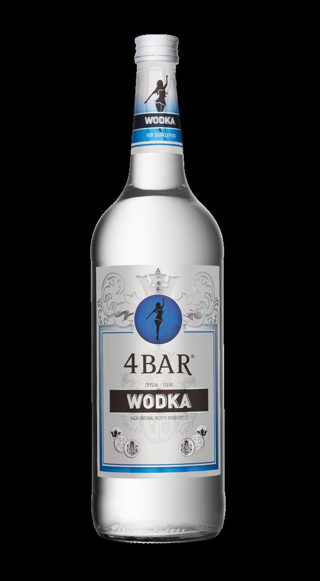 4 Bar Vodka 37,5% 1,0l