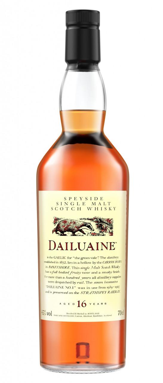 Dailuaine 16 years Flora & Fauna Collection Single Speyside Malt 43% 0,70l