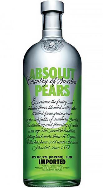 Absolut Vodka Pears 40% 1,0l!