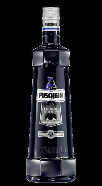 Puschkin Black Berries 16,6% 1,0l!