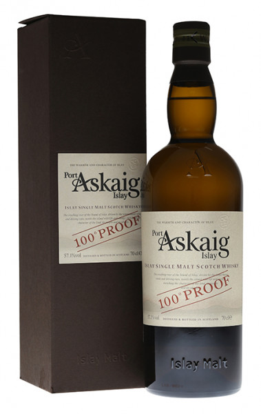 Port Askaig 100 Proof Single Islay Malt Whisky 57,1% 0,7l!