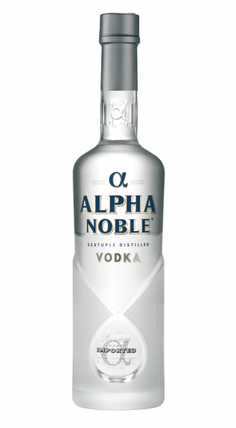 Alpha Noble Vodka 40% 0,5l!