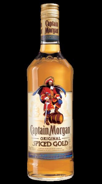 Captain Morgan Rum Spiced Gold 35% 0,7l