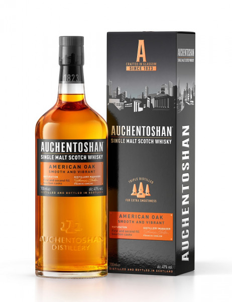 Auchentoshan American Oak Lowland Single Malt Whisky 0,7l
