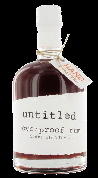 untitled rum overproof 73% 0,5l