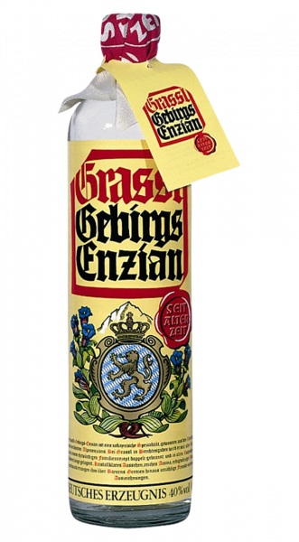 Grassl Gebirgsenzian 40% 0,7l!