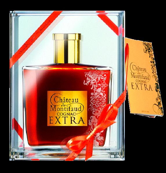 Château Montifaud Extra in Karaffe Jens 40% 0,7l!