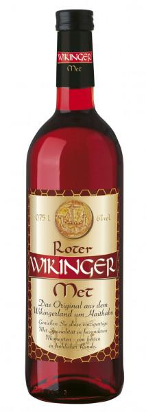#ROTER Wikinger Met Honigwein Glasflasche 6% 0,75l